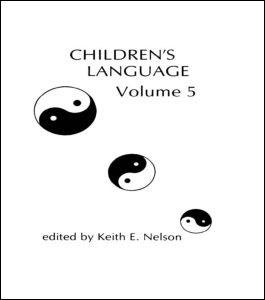 Abbildung von Nelson | Children's Language | 1985