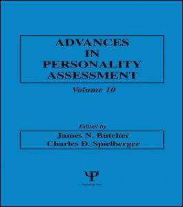 Abbildung von Butcher / Spielberger | Advances in Personality Assessment | 1995