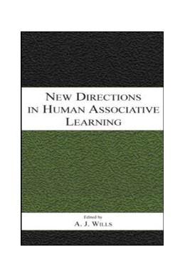 Abbildung von Wills | New Directions in Human Associative Learning | 2005