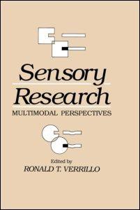 Abbildung von Verrillo | Sensory Research | 1993