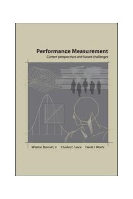 Abbildung von Bennett / Lance / Woehr   Performance Measurement   2006   Current Perspectives and Futur...