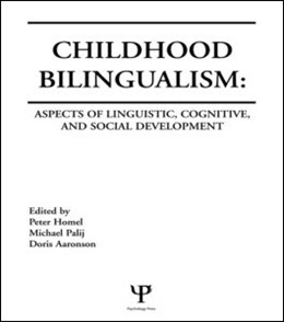 Abbildung von Homel / Palij / Aaronson | Childhood Bilingualism | 1987 | Aspects of Linguistic, Cogniti...