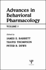 Abbildung von Thompson / Dews / Barrett   Advances in Behavioral Pharmacology   1990