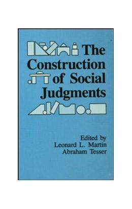 Abbildung von Martin / Tesser | The Construction of Social Judgments | 1992