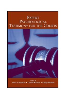 Abbildung von Costanzo / Krauss / Pezdek | Expert Psychological Testimony for the Courts | 2006