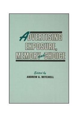Abbildung von Mitchell | Advertising Exposure, Memory and Choice | 1993