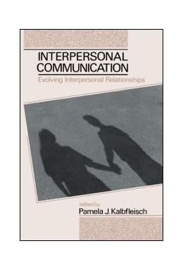 Abbildung von Kalbfleisch | Interpersonal Communication | 1993 | Evolving Interpersonal Relatio...