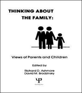 Abbildung von Ashmore / Brodzinsky | Thinking About the Family | 1986