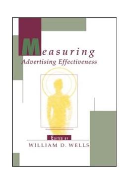 Abbildung von Wells | Measuring Advertising Effectiveness | 1997