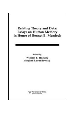 Abbildung von Hockley / Lewandowsky   Relating Theory and Data   1991   Essays on Human Memory in Hono...