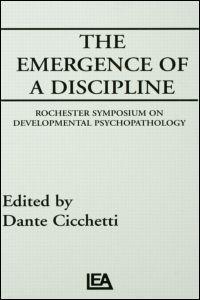 Abbildung von Cicchetti   The Emergence of A Discipline   1990