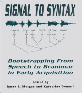 Abbildung von Morgan / Demuth | Signal to Syntax | 1995
