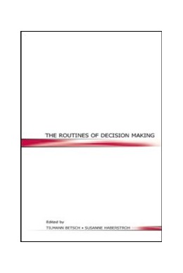 Abbildung von Betsch / Haberstroh | The Routines of Decision Making | 2005