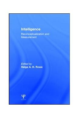 Abbildung von Rowe | Intelligence | 1991 | Reconceptualization and Measur...