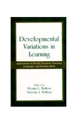 Abbildung von Molfese | Developmental Variations in Learning | 2001 | Applications to Social, Execut...
