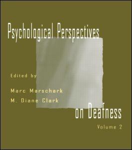 Abbildung von Marschark / Clark | Psychological Perspectives on Deafness | 1998