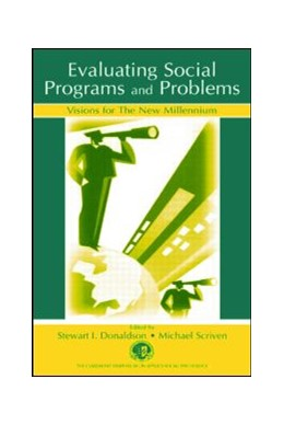 Abbildung von Donaldson / Scriven | Evaluating Social Programs and Problems | 2002 | Visions for the New Millennium