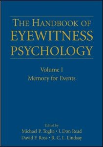 Abbildung von Toglia / Read / Ross / Lindsay | The Handbook of Eyewitness Psychology: Volume I | 2006
