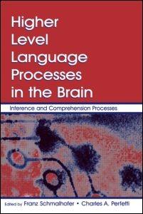Abbildung von Schmalhofer / Perfetti | Higher Level Language Processes in the Brain | 2007
