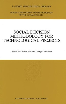 Abbildung von Vlek / Cvetkovich | Social Decision Methodology for Technological Projects | 1989 | 9