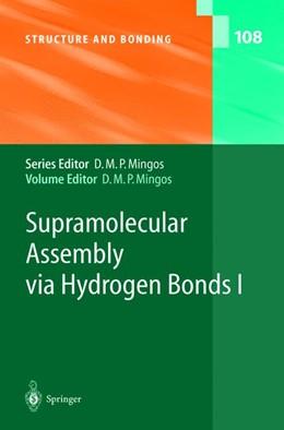 Abbildung von Mingos | Supramolecular Assembly via Hydrogen Bonds I | 2004 | 108