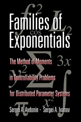 Abbildung von Avdonin / Ivanov | Families of Exponentials | 1995 | The Method of Moments in Contr...