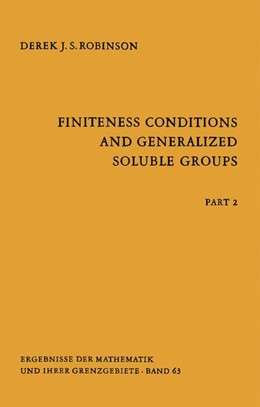 Abbildung von Robinson | Finiteness Conditions and Generalized Soluble Groups | 1972 | Part 2 | 63