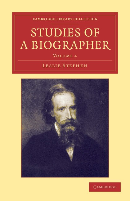 Abbildung von Stephen | Studies of a Biographer | 2012