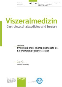 Abbildung von Jähne / Kubicka | Interdisziplinäre Therapiekonzepte bei kolorektalen Lebermetastasen | 2012 | Themenheft: Viszeralmedizin 20...
