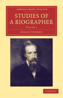 Abbildung von Stephen | Studies of a Biographer | 2012