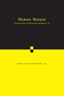 Abbildung von Sandis / Cain | Human Nature: Volume 70 | 2012