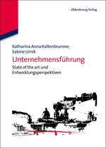 Unternehmensführung | Kaltenbrunner / Urnik, 2012 | Buch (Cover)