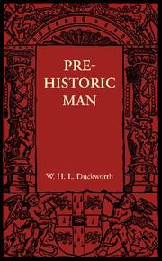 Abbildung von Duckworth | Prehistoric Man | 2012