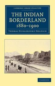 Abbildung von Holdich | The Indian Borderland, 1880-1900 | 2012
