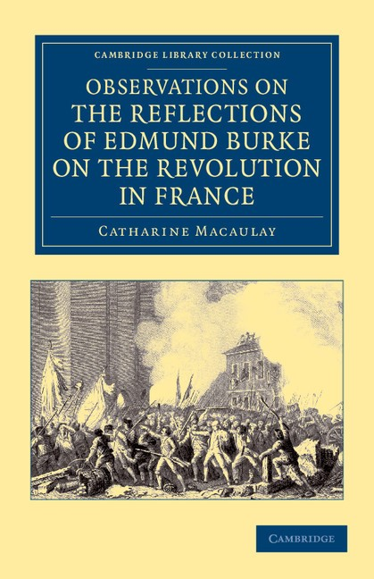 Abbildung von Macaulay | Observations on the Reflections of the Right Hon. Edmund Burke, on the Revolution in France | 2012