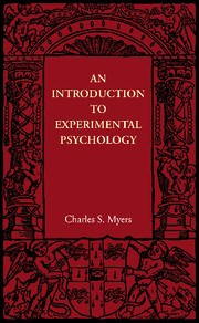 Abbildung von Myers | An Introduction to Experimental Psychology | 2012