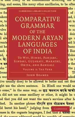 Abbildung von Beames | Comparative Grammar of the Modern Aryan Languages of India | 2012 | To Wit, Hindi, Panjabi, Sindhi...