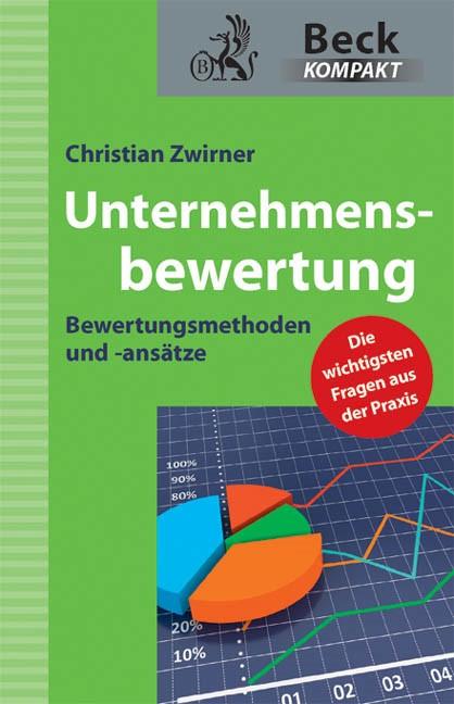 Unternehmensbewertung | Zwirner, 2012 | Buch (Cover)
