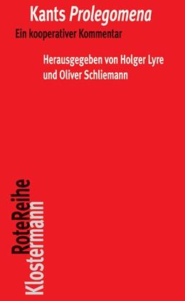 Abbildung von Lyre / Schliemann | Kants Prolegomena | 2012 | Ein kooperativer Kommentar | 52