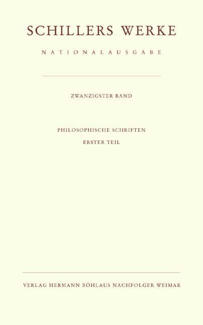 Schillers Werke. Nationalausgabe | Oellers / Steingießer, 2001 | Buch (Cover)