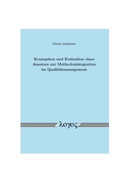 Abbildung von Johannsen | Konzeption und Evaluation eines Ansatzes zur Methodenintegration im Qualitätsmanagement | 2012