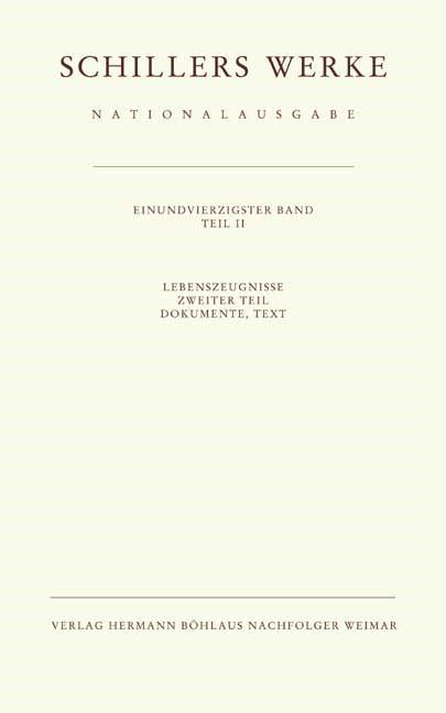 Schillers Werke. Nationalausgabe | Oellers, 2006 | Buch (Cover)