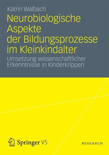 Abbildung von Walbach   Neurobiologische Aspekte der Bildungsprozesse im Kleinkindalter   2012