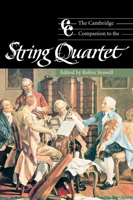 Abbildung von Stowell | The Cambridge Companion to the String Quartet | 2003