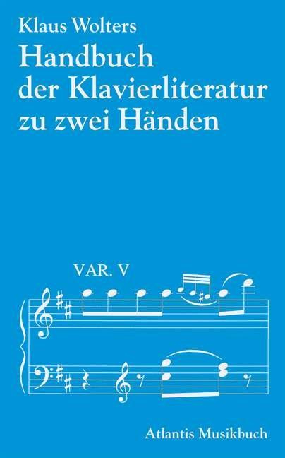 Abbildung von Wolters | Handbuch der Klavierliteratur zu zwei Händen | 1993