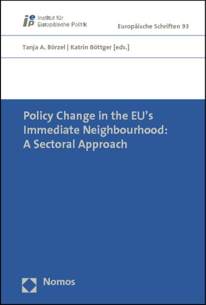 Abbildung von Börzel / Böttger (Hrsg.) | Policy Change in the EU's Immediate Neighbourhood: A Sectoral Approach | 2012
