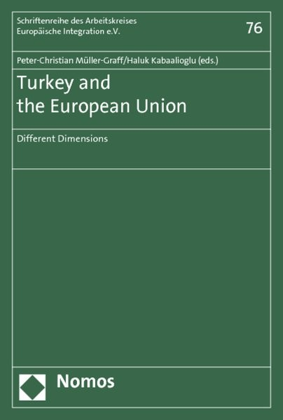 Turkey and the European Union | Müller-Graff / Kabaalioglu, 2012 (Cover)