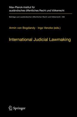 Abbildung von Bogdandy / Venzke   International Judicial Lawmaking   2012   On Public Authority and Democr...   236
