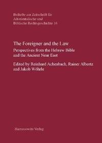 Abbildung von Achenbach / Albertz / Wöhrle | The Foreigner and the Law | 2011