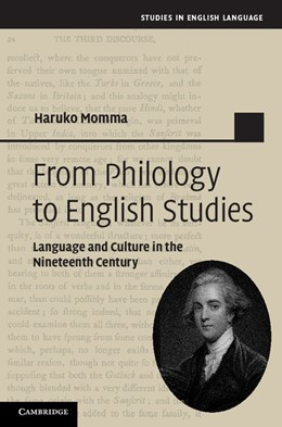 Abbildung von Momma | From Philology to English Studies | 2012 | Language and Culture in the Ni...